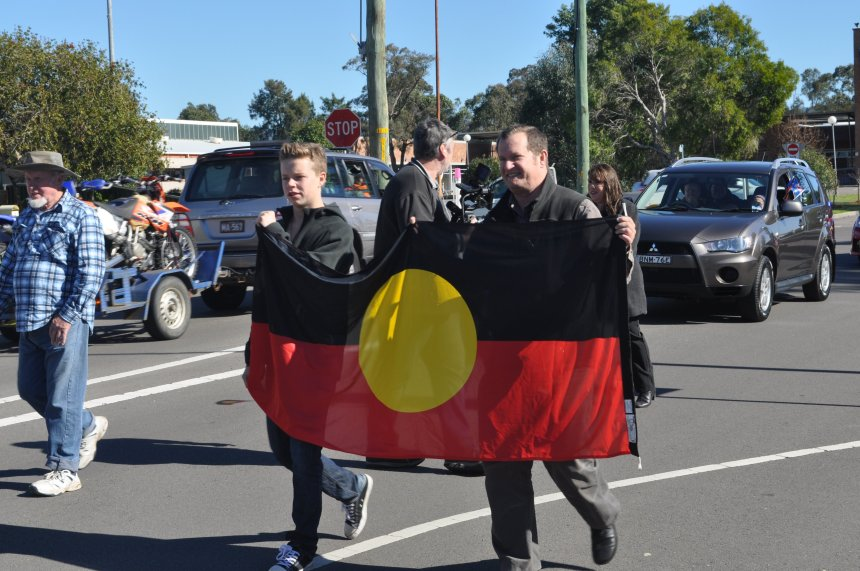 Naidoc March Cessnock July 2013