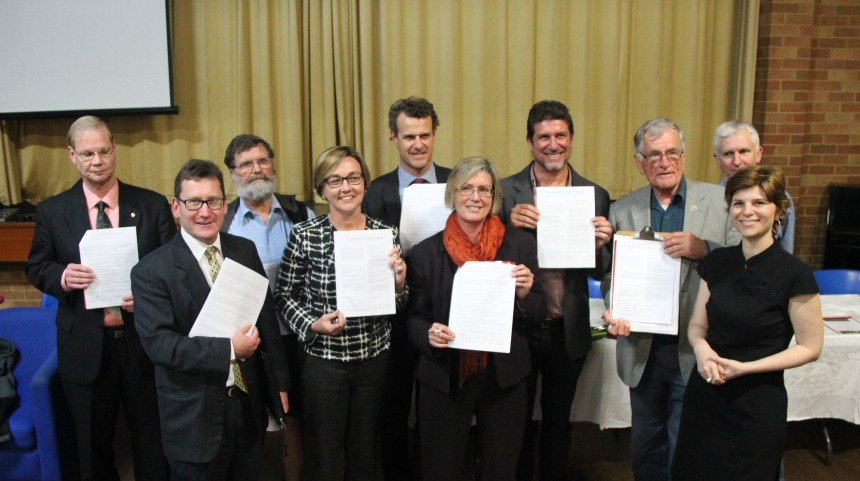 Newcastle & Charlestown candidates endorsing the Charter
