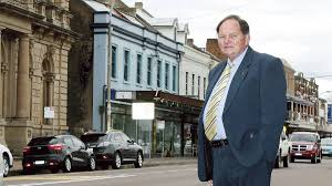 Mailtland Mayor Peter Blackmore